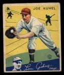 1934 Goudey #16   Joe Kuhel Front Thumbnail