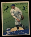 1934 Goudey #15  Alvin Crowder  Front Thumbnail