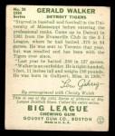 1934 Goudey #26   Gerald Walker Back Thumbnail