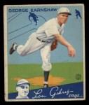 1934 Goudey #41   George Earnshaw Front Thumbnail
