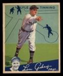 1934 Goudey #71   Lyle Tinning Front Thumbnail