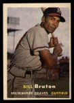 1957 #48  Billy Bruton  Front Thumbnail