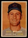 1957 Topps #351   Dave Hillman Front Thumbnail