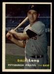 1957 Topps #3   Dale Long Front Thumbnail
