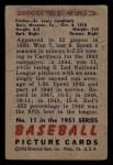 1951 Bowman #11   Red Munger Back Thumbnail