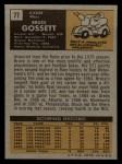 1971 Topps #77   Bruce Gossett Back Thumbnail