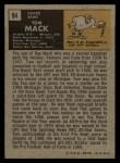 1971 Topps #94   Tom Mack Back Thumbnail