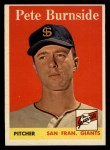 1958 Topps #211  Pete Burnside  Front Thumbnail