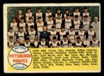 1958 Topps #341  Pirates Team Checklist  Front Thumbnail