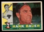 1960 Topps #262   Hank Bauer Front Thumbnail