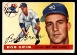 1955 Topps #80   Bob Grim Front Thumbnail