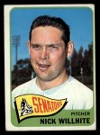 1965 Topps #284  Nick Willhite  Front Thumbnail
