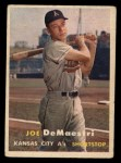1957 Topps #44   Joe DeMaestri Front Thumbnail