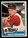 1965 Topps #92   Dick Howser Front Thumbnail