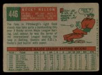 1959 Topps #446  Rocky Nelson  Back Thumbnail