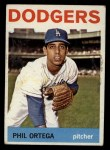 1964 Topps #291   Phil Ortega Front Thumbnail