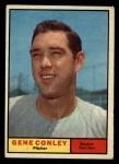 1961 Topps #193   Gene Conley Front Thumbnail