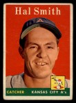 1958 Topps #257  Hal W. Smith  Front Thumbnail