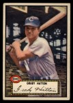 1952 Topps #6 BLK  Grady Hatton Front Thumbnail
