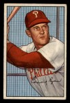 1952 Bowman #164   Connie Ryan Front Thumbnail