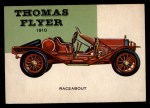 1953 Topps World on Wheels #65  Thomas Flyer Speedster 1910  Front Thumbnail