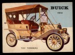 1953 Topps World on Wheels #4  Buick Toy Tonneau 1910  Front Thumbnail