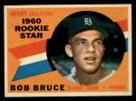 1960 Topps #118  Rookie Stars  -  Bob Bruce Front Thumbnail