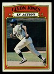 1972 Topps #32  In Action  -  Cleon Jones Front Thumbnail