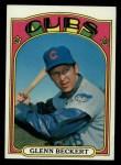 1972 Topps #45 ERR  Glenn Beckert Front Thumbnail