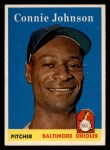 1958 Topps #266   Connie Johnson Front Thumbnail