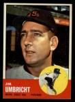 1963 Topps #99   Jim Umbricht Front Thumbnail