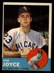1963 Topps #66   Mike Joyce Front Thumbnail