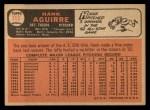 1966 Topps #113   Hank Aguirre Back Thumbnail