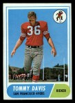 1968 Topps #165   Tommy Davis Front Thumbnail