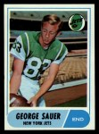 1968 Topps #13   George Sauer Front Thumbnail