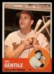 1963 Topps #260  Jim Gentile  Front Thumbnail