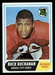 1968 Topps #197   Buck Buchanan Front Thumbnail