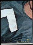 1968 Topps #197   Buck Buchanan Back Thumbnail