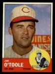 1963 Topps #70  Jim O'Toole  Front Thumbnail