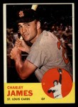 1963 Topps #83   Charlie James Front Thumbnail