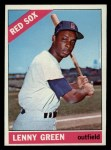 1966 Topps #502  Lenny Green  Front Thumbnail