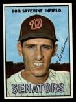 1967 Topps #27   Bob Saverine Front Thumbnail