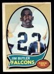 1970 Topps #234   Jim Butler Front Thumbnail