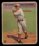 1933 Goudey #219   George Mule Haas Front Thumbnail
