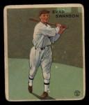 1933 Goudey #195  Evar Swanson  Front Thumbnail