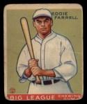 1933 Goudey #148   Eddie Farrell Front Thumbnail