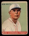 1933 Goudey #185   Bob Smith Front Thumbnail