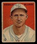 1933 Goudey #113   Ossie Bluege Front Thumbnail