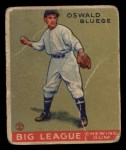 1933 Goudey #159   Ossie Bluege Front Thumbnail