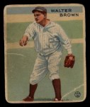1933 Goudey #192  Walter Brown  Front Thumbnail